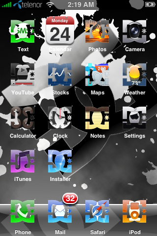 Iphone themes dc shoes theme voltagebd Gallery